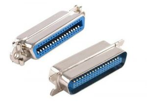 36 Pin Male to Female Centronics Low Profile Port Saver