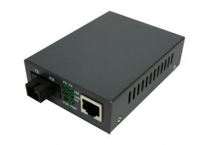 Singlemode WDM Media Converter - 10/100 Base-TX 1310nm to 100 Base-FX - RJ45 to SC - 20 Km