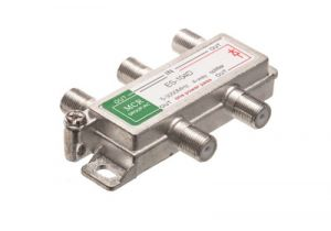 4-Way Coax Splitter - 5 to 2150 MHz