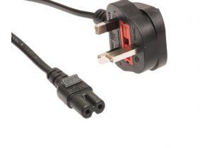 BS 1363 to C7 International Power Cord - 2.5 Amp - 1.8 M