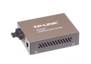 10/100 Mbps Multimode Fiber Optic Ethernet Media Converter - SC - 2 Km