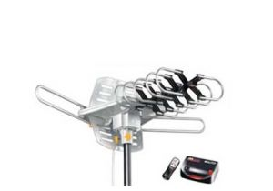 Outdoor Yagi HDTV Antenna - VHF/UHF/FM - 36dB - with Rotor Motor