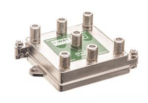 6-Way Coax Splitter - 5 to 1000 MHz