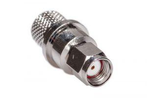 Reverse Polarity SMA Male Crimp Connector - Belden 9913 & LMR-400