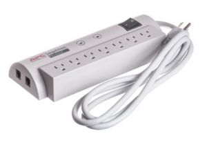 7 Outlet Surge Protector with Telephone Line Protection - 6 FT Cord