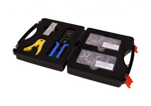 Cat5e Shielded Bulk Ethernet Network Termination Tool Kit