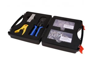 Cat6 Shielded Bulk Ethernet Network Termination Tool Kit