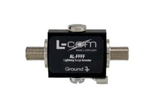 L-com F-Female to F-Female 0-3 GHz 90V Lightning Protector