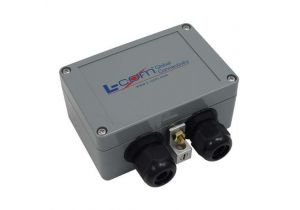 L-com Compact Weatherproof 10/100/1000 Base-T CAT6 Gas Tube Lightning Protector - RJ45 Jacks