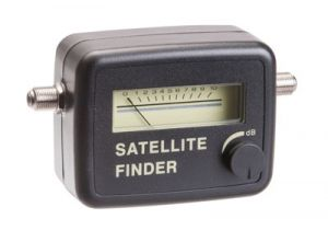Analog Satellite Dish Signal Finder - Pocket Size