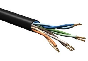 Belden 7928A - DataTuff® Cat5e UTP Solid Industrial Grade Plenum - 350MHz - 1000 FT