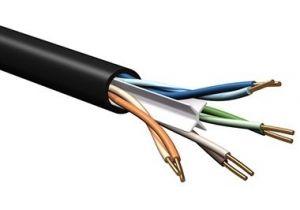Belden 7927A - DataTuff® Cat6 UTP Solid Industrial Grade PVC - 600MHz