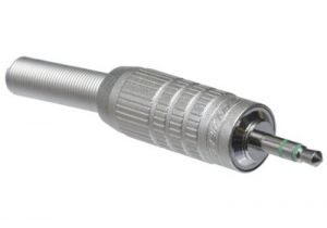 Canare F-12 3-Pole 3.5mm Male Solder Connector - Metal