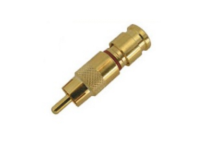 Holland RCA Gold Compression Connector - SLC Series -  RG59