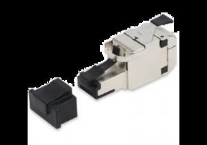 Belden REVConnect 10GX Field Mount Plug - Shielded - Metal - 24 Pack