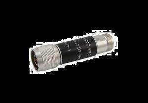 L-com 2W/8dB RF Fixed Attenuator - N Male to N Female - Brass Nickel - 6 GHz