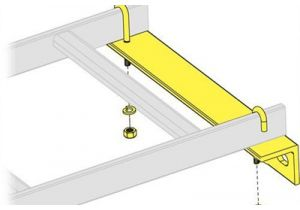 Middle Atlantic Cable Ladder Wall Support Hardware - 12 Inch Width