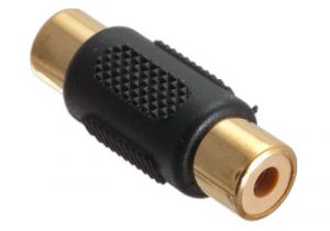 Gold Plated RCA Female Coupler