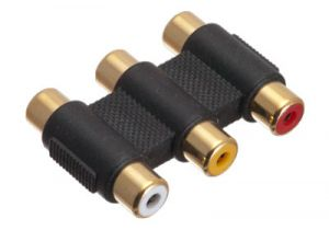 RCA Composite Audio & Video Female to Female Coupler Adapter