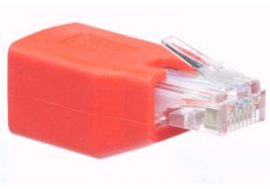 Cat6 RJ45 Male to RJ45 Female Ethernet Adapter - Crossover Pinout