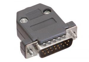 DB15 Male Crimp Connector Kit - Plastic
