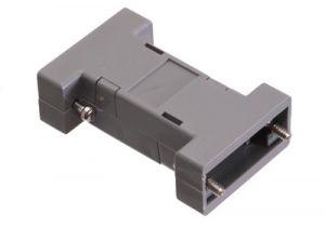 DB9 & HD15 VGA Dual Sided Hood - Plastic
