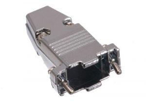 DB9 & HD15 VGA Hood - Metal