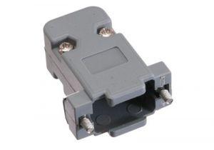DB9 & HD15 VGA Hood - Plastic