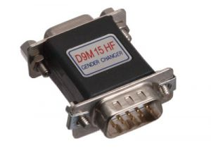 DB9 Male to HD15 VGA Female Serial Adapter