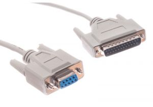 DB9 Female to DB25 Male AT Modem Serial Cable