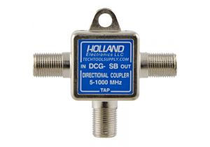 Holland Single Port Coax Tap - 5 to 1000 MHz - 6dB
