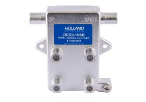 Holland Quad Port Coax Tap - 5 to 1000 MHz - 16dB