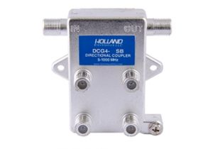 Holland Quad Port Coax Tap - 5 to 1000 MHz - 20dB