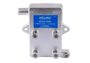 Holland Quad Port Coax Tap - 5 to 1000 MHz - 8dB