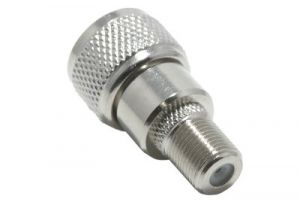 F-Type Female to UHF Male Adapter