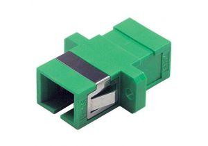 Fiber Coupler SC APC/SC APC - Ceramic Alignment Sleeve