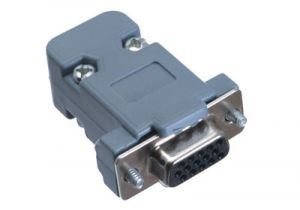 HD15 VGA Female Crimp Connector Kit - Plastic