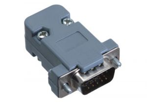 HD15 VGA Male Crimp Connector Kit - Plastic