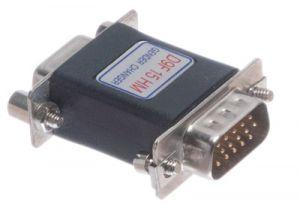 DB9 Female to HD15 VGA Male Serial Adapter