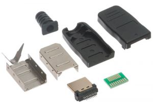 HDMI Male Solder Connector Kit