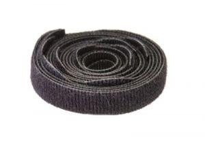 Hook and Loop Fastening Cable Ties - 1/2 IN Width  - 10 Per Pack