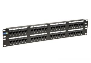 ICC Cat6C Component-Rated Patch Panel - 48 Port