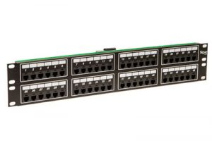ICC Telco Male Patch Panel - RJ11 - 6P2C - 2 RU - 48 Port