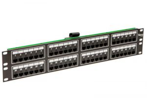 ICC Telco Male VOIP Patch Panel - RJ45 - 8P2C - 2 RU - 48 Port