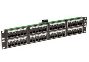 ICC Telco Male VOIP Patch Panel - RJ45 - 8P2C - 2 RU - 48 Port