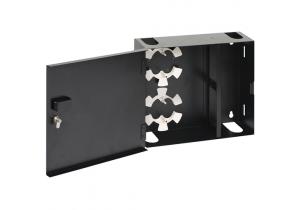 ICC Economy Wall Mount Fiber Optic Enclosure - Single Door - 4 Panel
