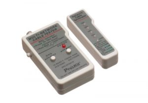 Multi-Network Cable Tester - Ethernet & Coaxial