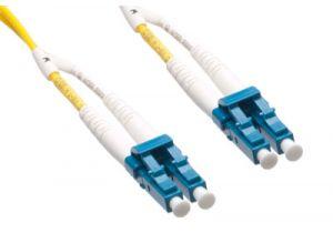 LC/LC 9/125 Singlemode Duplex Plenum Fiber Patch Cable - OS1