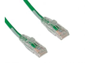 Cat5e Plenum Digital Lighting Management Cable - Solid - Green