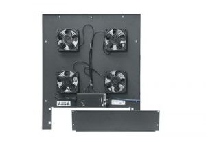 Middle Atlantic Integrated Fan Top Option with Controller - Includes Four 4 1/2 Inch Fans